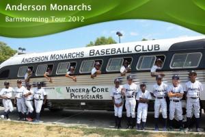 Anderson Monarchs Barnstorming 2012