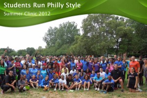 students run clinic 2012