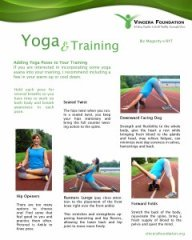 yoga and training