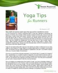 yoga tips for runners