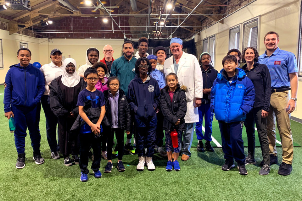 Vincera Foundation hosts Core Health and Wellness Workshop for the United States Tennis Association